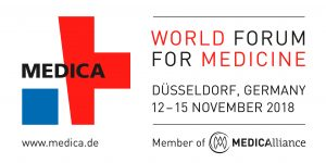 Train2hear auf der Medica 2018